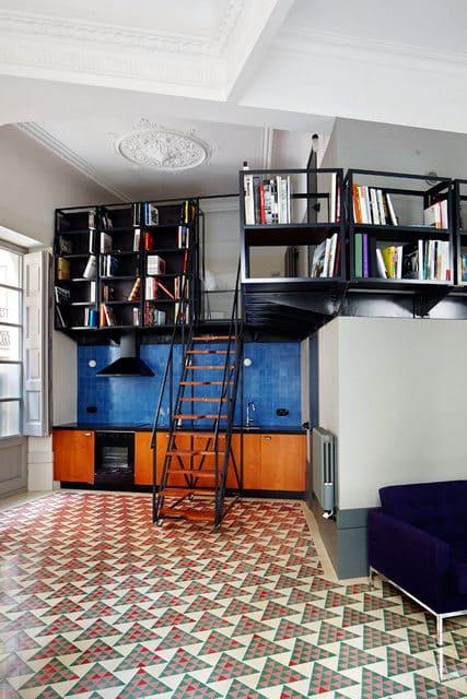 Un appartement moderne qui a conservé l'esprit rétro (4)