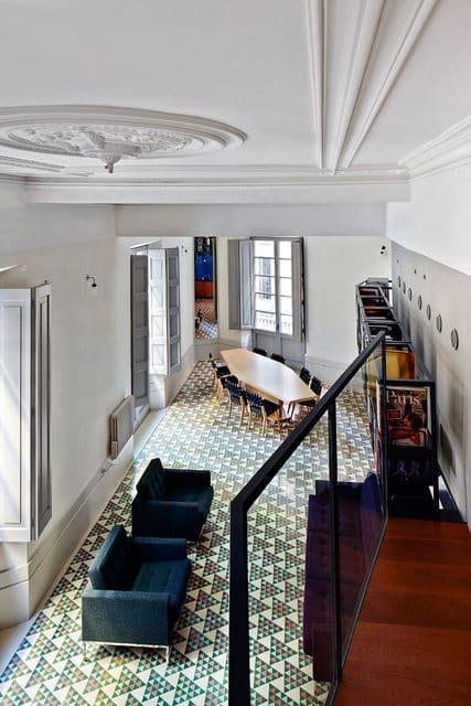 Un appartement moderne qui a conservé l'esprit rétro (5)