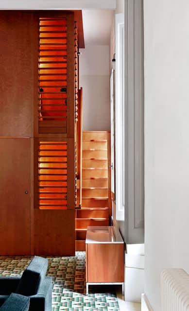 Un appartement moderne qui a conservé l'esprit rétro (8)