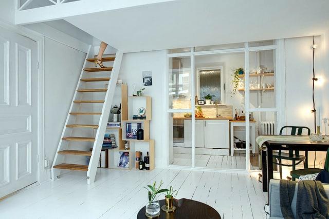 Duplex dans un petit espace for Decoration interieur d un petit appartement