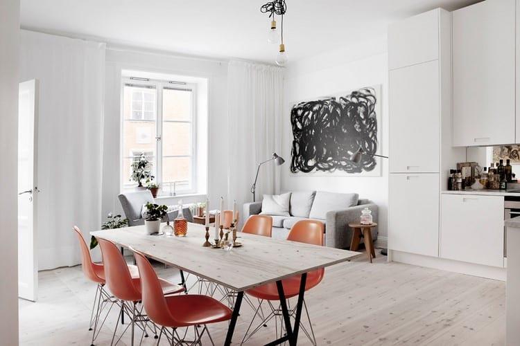 Comment relooker son appartement avec une d co noir et blanc for Relooker son appartement