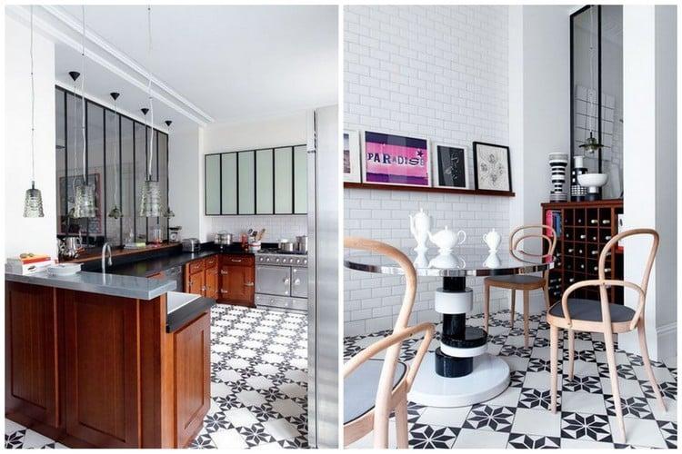 une d co f minine pour un appartement parisien. Black Bedroom Furniture Sets. Home Design Ideas