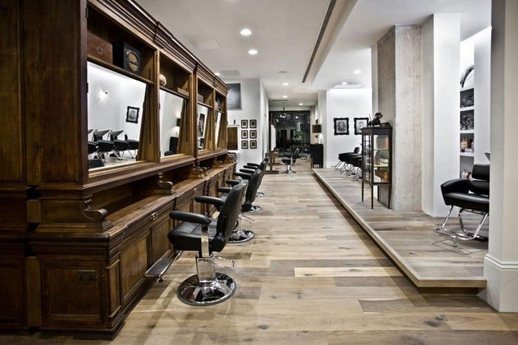 Id es d co pour un salon de coiffure for Porte revue salon de coiffure