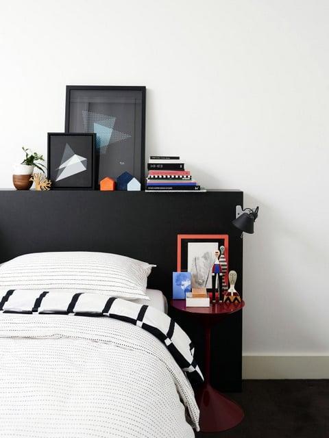 tete de lit noire