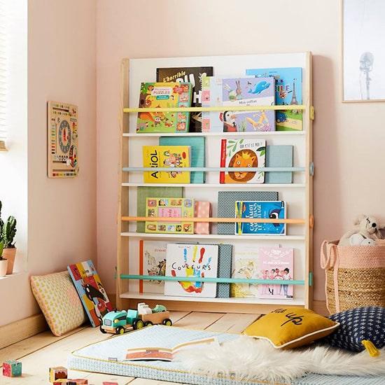 Bibliothèque enfant type présentoir