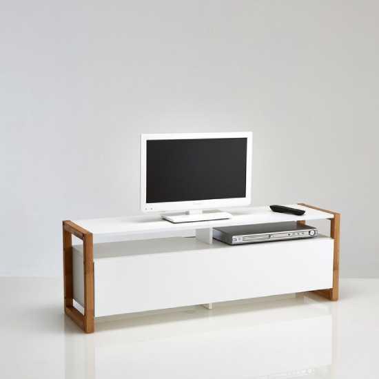 Meuble tv scandinave blanc