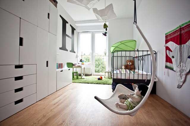 Une maison bois béton en Pologne (4)