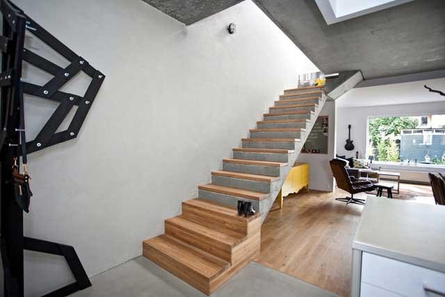 Une maison bois béton en Pologne (8)