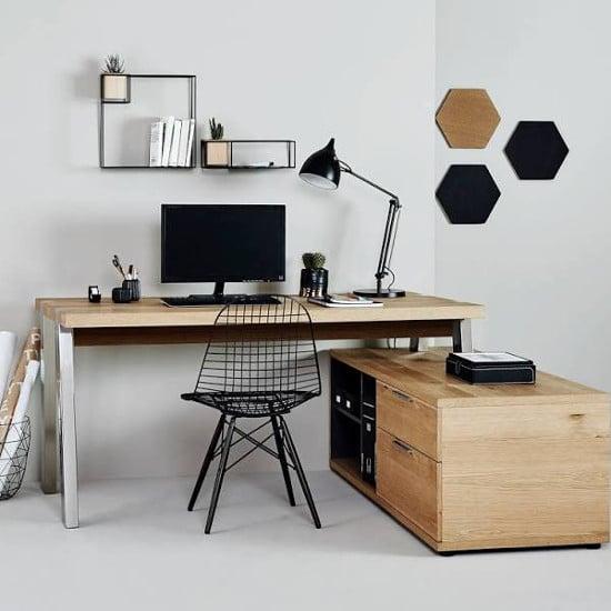 bureau d'angle informatique