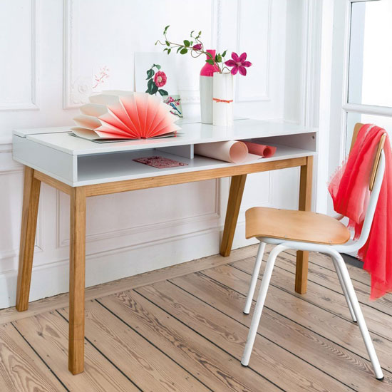 Bureau en bois contemporain