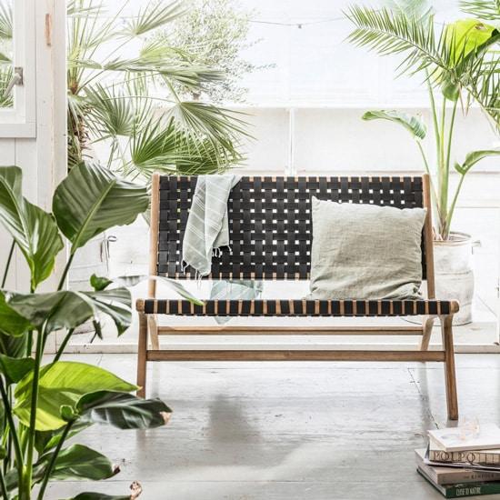 Petit canapé pour terrasse