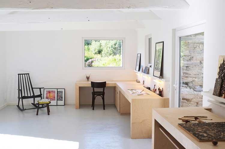 bureau atelier artiste