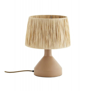 lampe en raphia