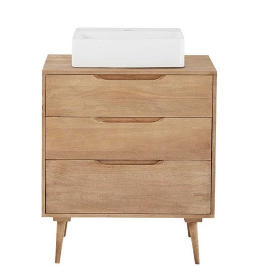 Meuble vasque avec tiroirs