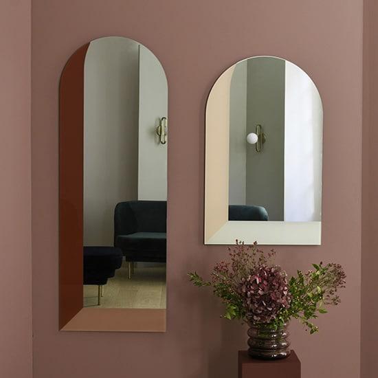 Miroir arche à illusion d'optique