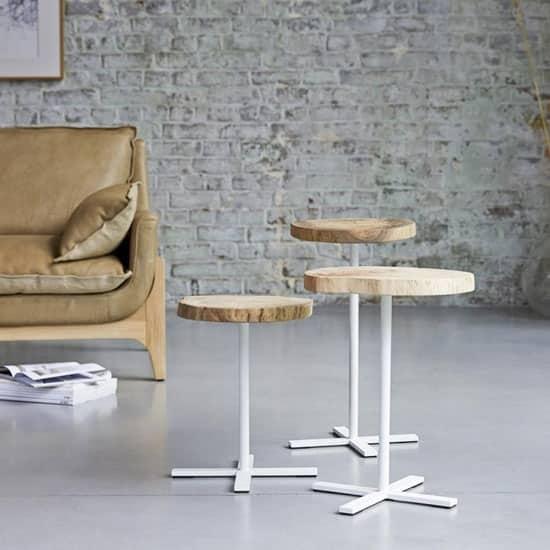 Table gigogne en bois