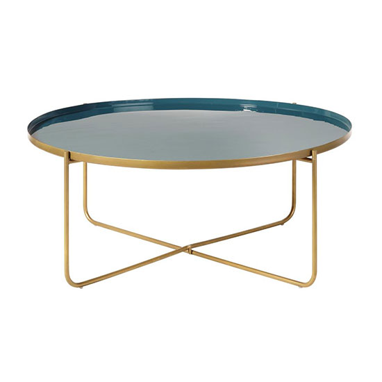Table basse ronde design