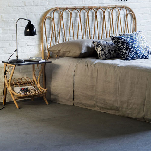 Tête de lit style bohème