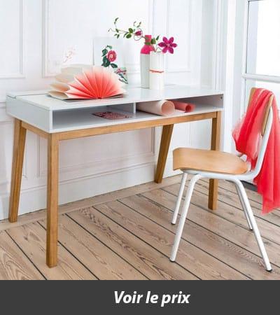 quel bureau en bois choisir pour une d co ind modable. Black Bedroom Furniture Sets. Home Design Ideas