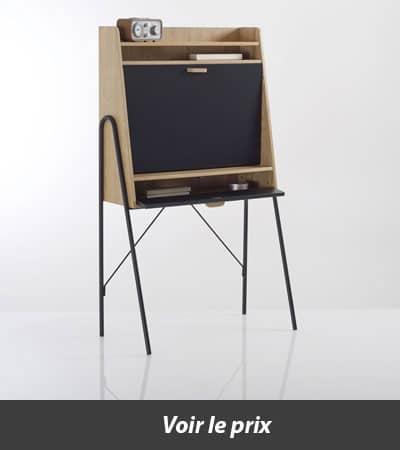 Top 10 des bureaux en bois pour une d co ind modable for Chaise quilda