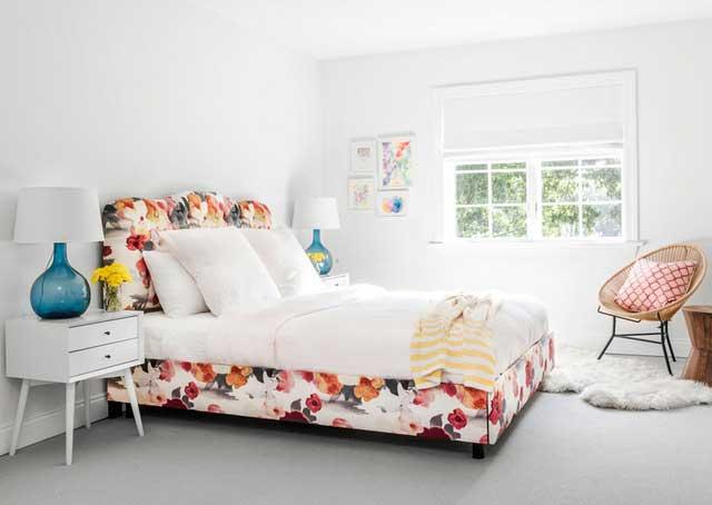 papier peint ananas et pastèque déco intérieure (5)