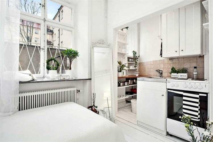 interieur scandinave blanc