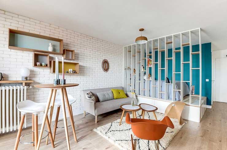 Delicieux Créer Une Chambre Dans Un Studio (1)