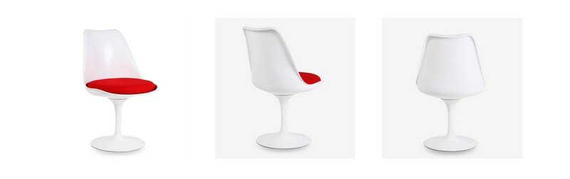 Chaise Tulip de Eero Saarinen dans Superestudio.fr