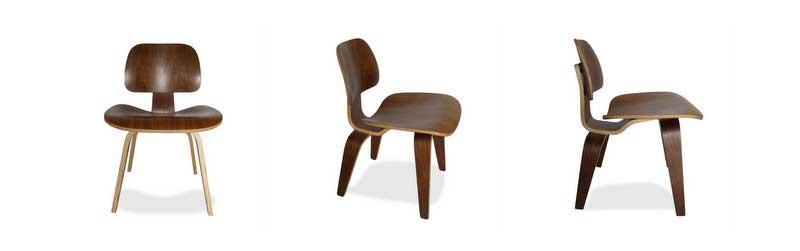 Chaise LCW de Charles & Ray Eames dans Superestudio.fr