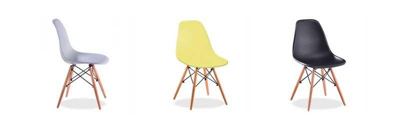 10 chaises devenues ic nes du design for Chaise facon eames