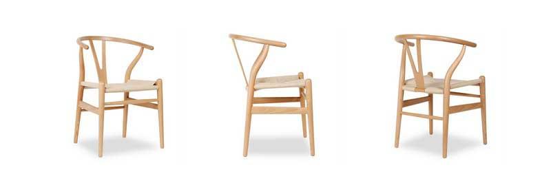 Chaise Wishbone de Hans J. Wegner dans Superestudio.fr