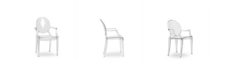 Chaise Louis Ghost de Philippe Starck dans Superestudio.fr