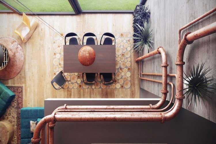 Loft industriel et cosy