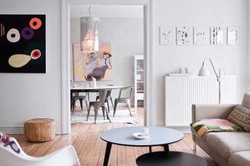 interieur blanc et bois