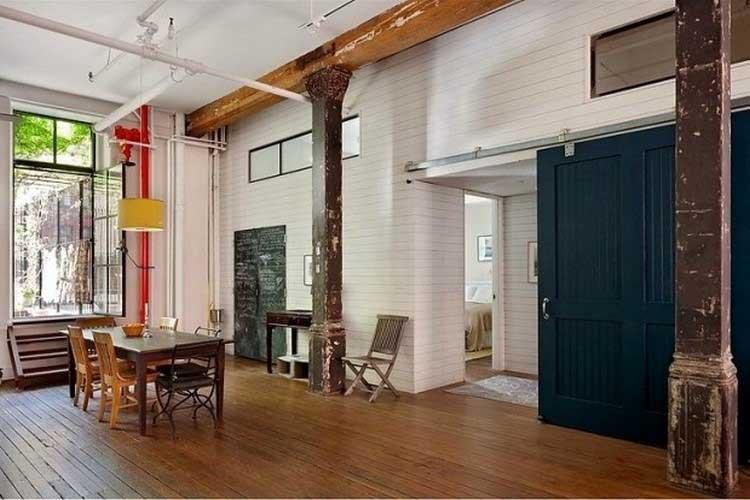 loft new yorkais boheme