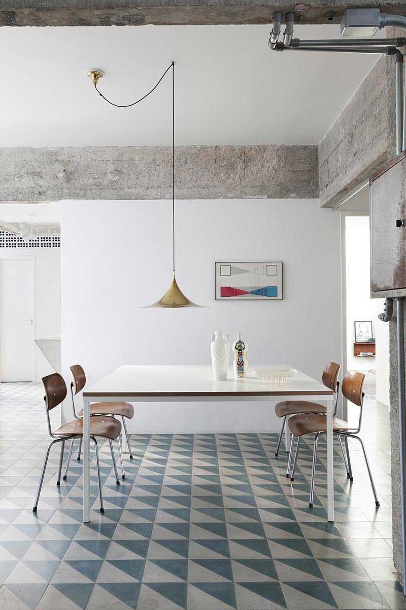Appartement renove par l'architecte d'interieur Felipe Hess
