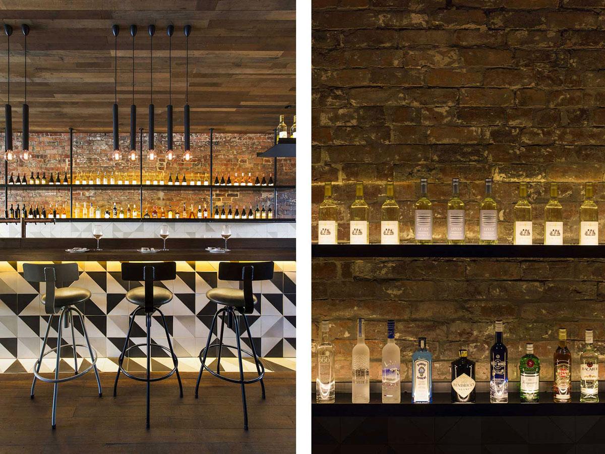 Style Atelier Industriel : Idées déco pour un bar au look industriel