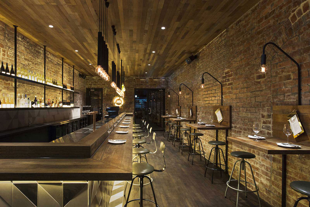 Decoration Industrielle Restaurant : Idées déco pour un bar au look industriel