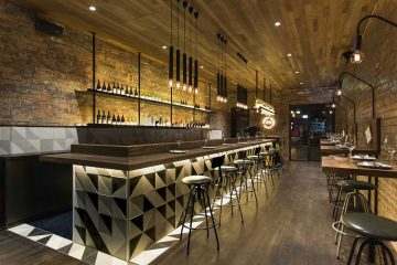 Bar deco industrielle