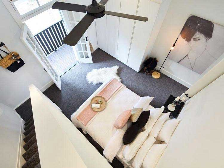 chambre a coucher cocooning