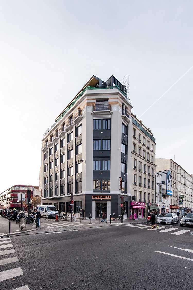 immeuble Les Piaules Paris