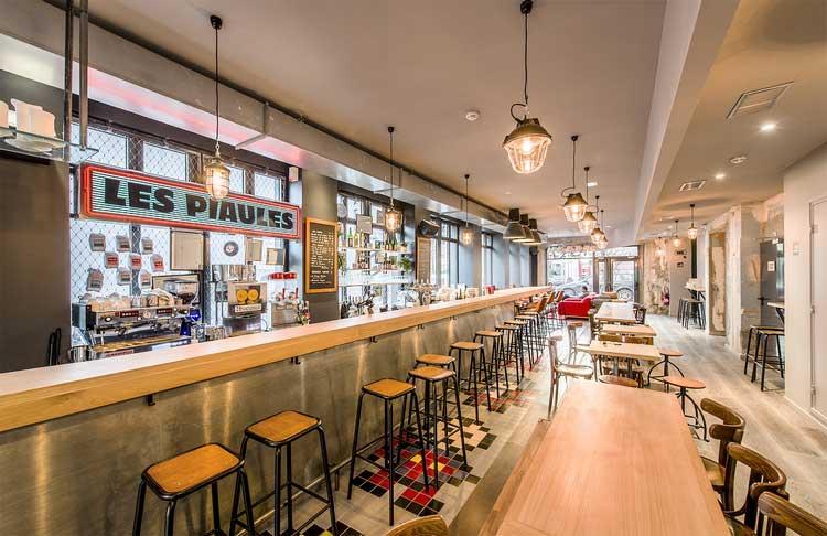 bar restaurant auberge de jeunesse les piaules