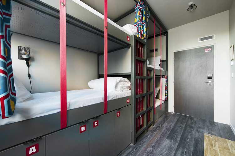 hostel à paris