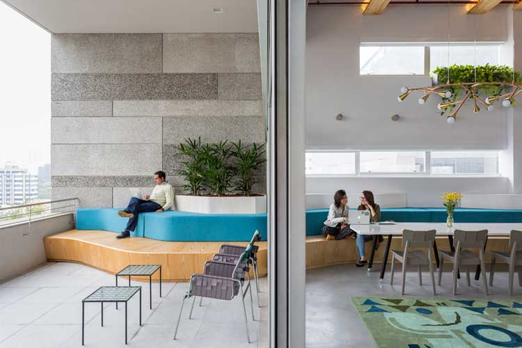 terrasse bureaux airbnb sao paulo