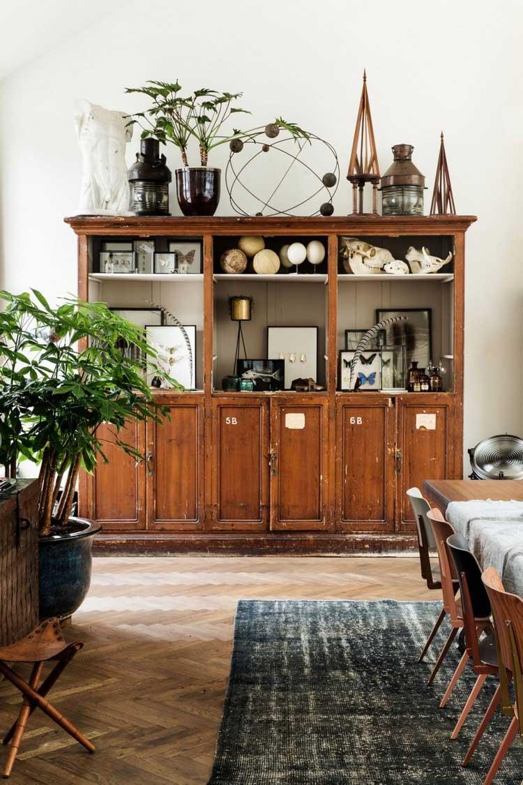 armoire vintage deco
