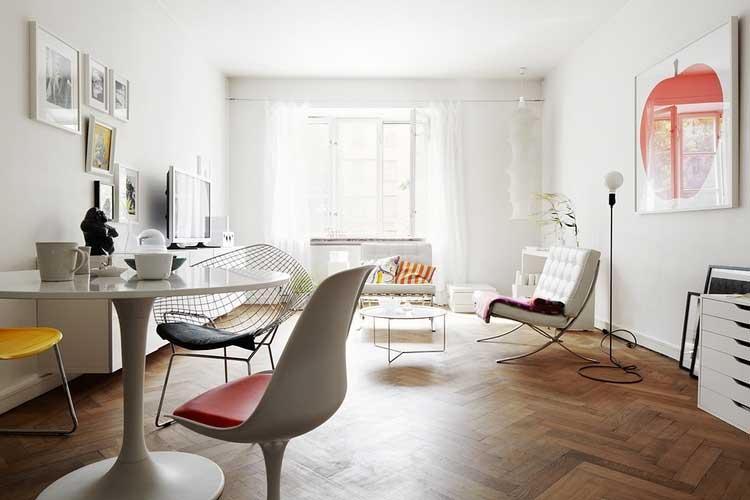 am nager son int rieur comme une galerie d 39 art. Black Bedroom Furniture Sets. Home Design Ideas