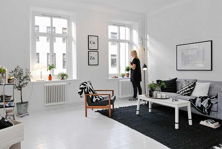 appartement deco blanc