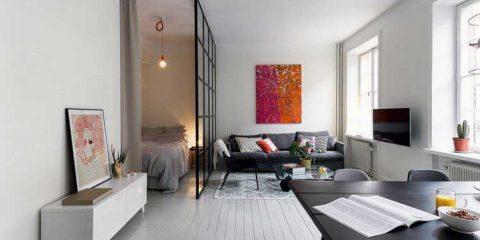 cr er des cloisons et habiller les murs avec des tasseaux en bois. Black Bedroom Furniture Sets. Home Design Ideas