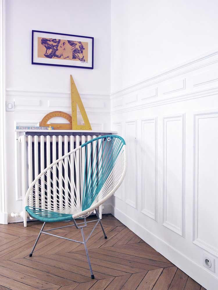 chaise acapulco bicolore