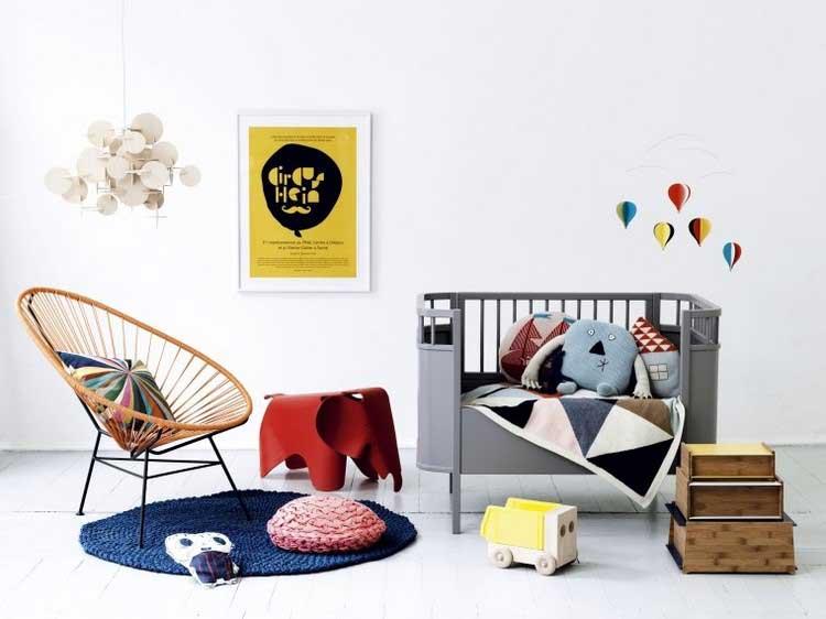 chaise acapulco chambre enfant